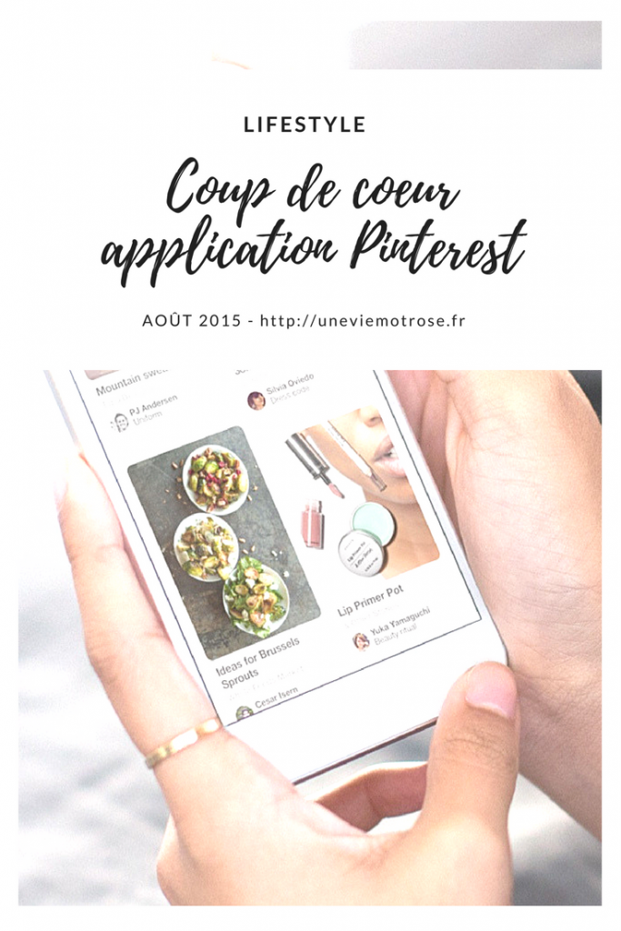 application Pinterest